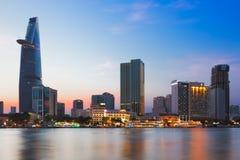 西贡(胡志明市),越南- 2014年1月 库存图片