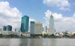 西贡,越南南方地平线  库存图片