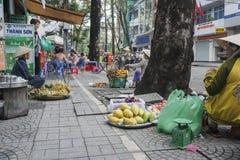 西贡, Ho池氏分钟城市。 免版税库存照片