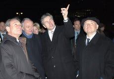 主要城市的市长 免版税库存照片