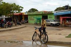 主要居住地印地安人guajiro  免版税图库摄影