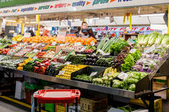 主要市场在阿德莱德,南澳大利亚 免版税库存照片