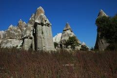要求cappadocia vadisi 免版税库存照片