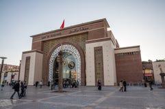 主要火车站在马拉喀什 库存照片