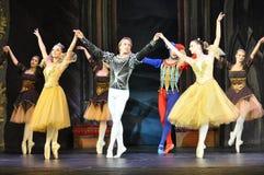 主要男性舞蹈家和芭蕾舞女演员 免版税库存图片