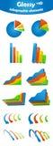 要素光滑infographic 皇族释放例证