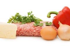 要素另外鲜肉 免版税图库摄影