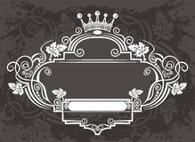要素框架 皇族释放例证
