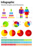 要素infographics集 库存图片