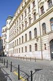 主要邮局,布拉索夫,斯洛伐克 免版税库存图片