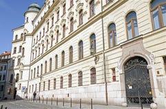 主要邮局,布拉索夫,斯洛伐克 库存照片