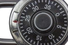 主要锁组合挂锁 免版税库存图片