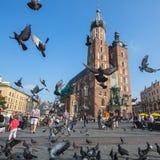 主要集市广场,是主要都市空间位于城市的中心 库存照片