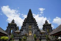主要巴厘语寺庙, Pura阿贡Besakih 图库摄影