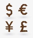 主要货币 免版税库存图片