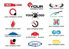 要素徽标向量 免版税库存照片