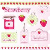 要素草莓 库存照片
