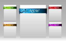 要素eshop项目新的集 免版税库存图片