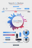 要素infographics 图库摄影