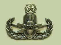主要EOD徽章 免版税图库摄影