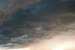 覆盖危险风暴 图库摄影