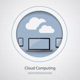 覆盖沟通的计算机计算的概念膝上型计算机被找出的资源 库存图片