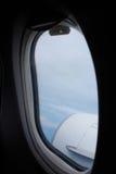 覆盖海岛平面视图视窗 免版税库存照片