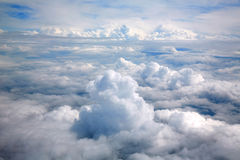 覆盖海航空器视图空中剧烈 图库摄影