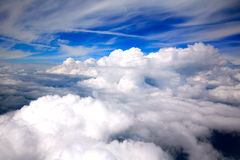 覆盖海航空器视图空中剧烈 库存图片