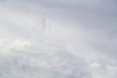 覆盖灰色风暴 图库摄影