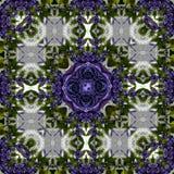 覆盖着纹理,样式, tapis,装饰背景在蓝色紫罗兰色玫瑰白色背景中 库存图片