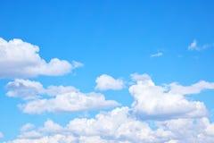 覆盖积云天空 图库摄影