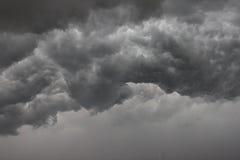 覆盖黑暗的严重的风暴 免版税库存图片