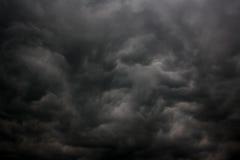 覆盖黑暗的严重的风暴 库存图片