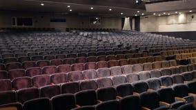 观众填装剧院。时间间隔。 股票视频