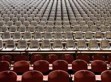 观众席就座 免版税库存图片