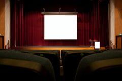 观众席屏幕 免版税图库摄影