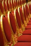观众席开放就座 免版税库存图片