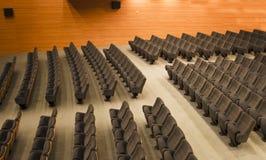 观众席椅子 免版税库存照片
