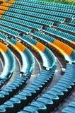 观众席空座位 免版税库存图片