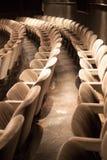观众席空座位 免版税图库摄影