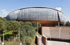 观众席Parco della Musica 免版税库存图片