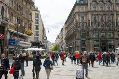 观光在维也纳 免版税库存图片