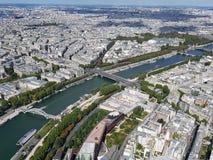 观光的巴黎 库存照片