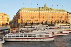 观光的斯德哥尔摩 免版税图库摄影