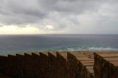 从观察台的海景 库存图片