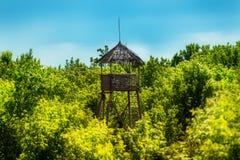 观测塔 免版税图库摄影