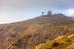 观测所兰萨罗特岛 免版税图库摄影