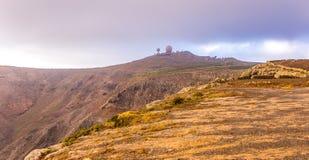 观测所兰萨罗特岛 库存图片