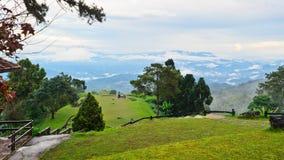 观点在国家公园。 Huai Nam Dang。 泰国 免版税图库摄影
